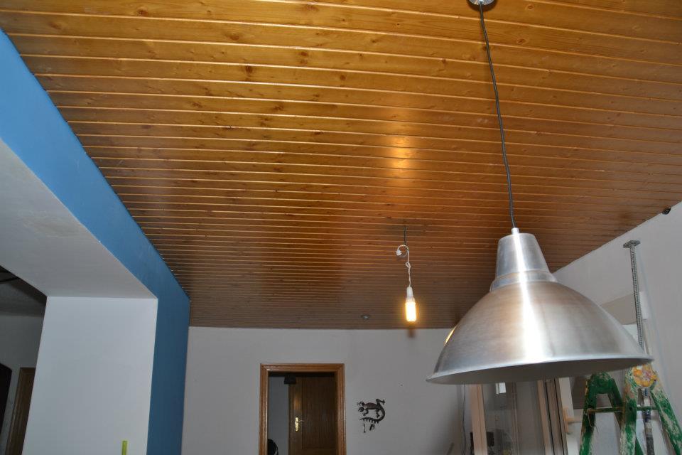 Revestimientos de paredes y techos parquets turia - Revestimiento de techos ...