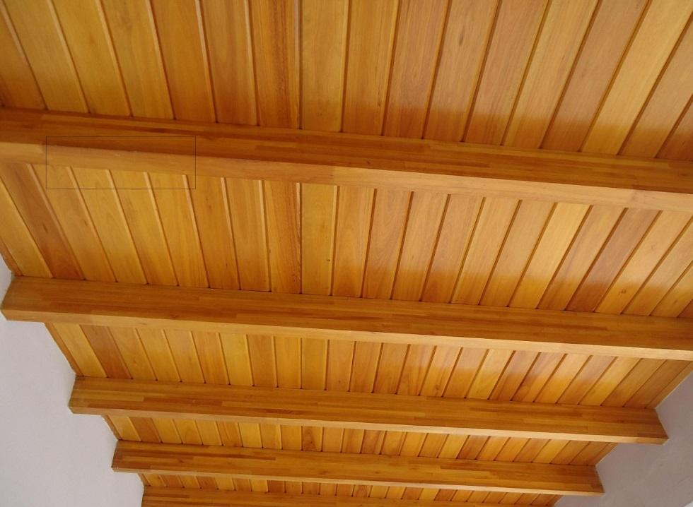 Revestimientos de paredes y techos parquets turia - Techos de maderas ...